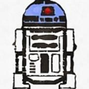 Star Wars R2d2 Droid Robot Art Print