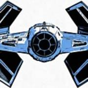 Star Wars Tie Fighter Advanced X1 Art Print
