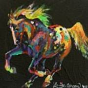 Starburst Pony Art Print