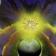 Starfire Galaxy Art Print