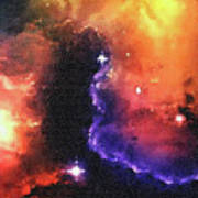 Stargazer - 01  Art Print