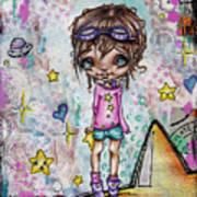 Starla Jones The 3rd Intergalactic Star Jumper Art Print
