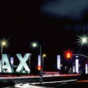 Stars Over Lax Art Print