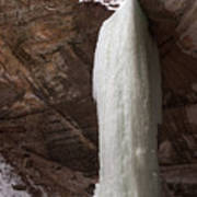 Starved Rock Icefall Art Print