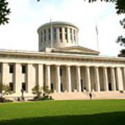 State Capitol Of Ohio Art Print