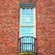 Stadshuset Window Art Print