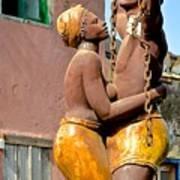 Statue Dedicated To Slaves Art Print