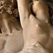 Statue In Piazza Del Signoria Florence Art Print