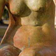 Statue In The Nude Art Print