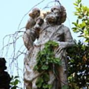 Statue In Venice Art Print