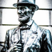 Statue Of Abraham Lincoln #8 Art Print