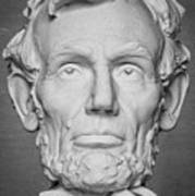 Statue Of Abraham Lincoln - Lincoln Memorial #6 Art Print