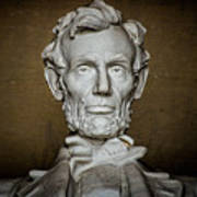 Statue Of Abraham Lincoln - Lincoln Memorial #7 Art Print