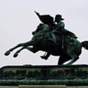 Statue Of Archduke Charles, Heldenplatz, Vienna Art Print