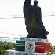 Statue Of Benito Pablo Juarez Garcia  Art Print