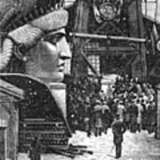 Statue Of Liberty, 1881 Art Print