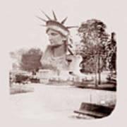 Statue Of Liberty 1883 Art Print