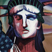 Statue Of Liberty Hb5t Art Print
