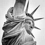 Statue Of Liberty, Lateral Portrait Art Print