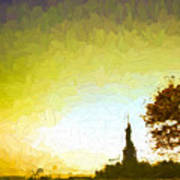 Statue Of Liberty - Nyc Art Print
