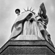 Statue Of Liberty, Tall Art Print