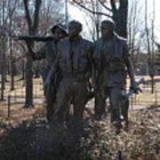 Statues Of War Art Print
