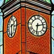 Staunton Clock Tower Landmark Art Print
