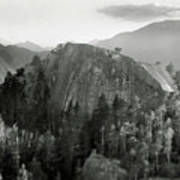 Stawamus Chief, Squamish, British Columbia, Canada, Tilt-shift Print by Brian Caissie