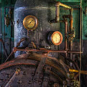 Steam Engine Art Print