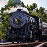 Steam Engine Of Cumberland Art Print