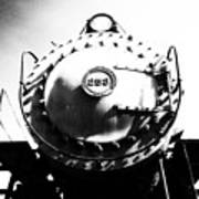Steam Locomotive #253 Art Print