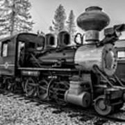 Steam Locomotive 5 Art Print