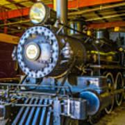 Steam Train 25 Art Print