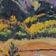 Steamboat Lake State Park Sand Mountain From Bridge Island Print by Zanobia Shalks