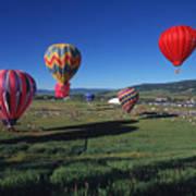 Steamboat Springs Balloon Festival Art Print