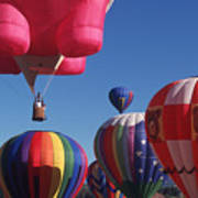 Steamboat Springs Balloons Art Print