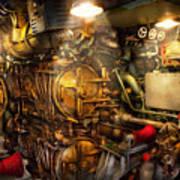 Steampunk - Naval - The Torpedo Room Art Print