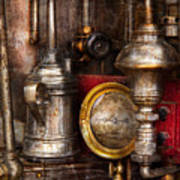 Steampunk - Needs Oil Art Print