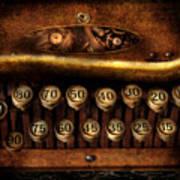 Steampunk - Remuneration Mechanism Art Print