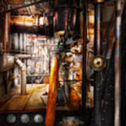 Steampunk - Plumbing - Pipes Art Print