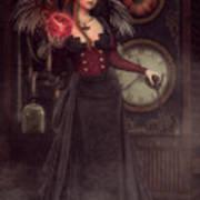 Steampunk Warlock Art Print