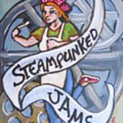 Steampunked Jams Art Print
