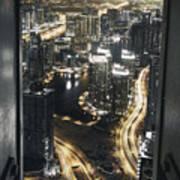 Steel Curtains Art Print