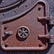 Steel Door Art Print