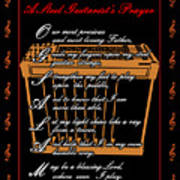 Steel Guitarist's Prayer_2 Art Print by Joe Greenidge
