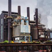 Steel Mill Art Print