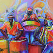 Steel Pan Carnival Art Print