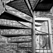 Steel Spiral Art Print