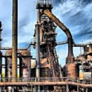 Steel Stacks Bethlehem Pa. Art Print