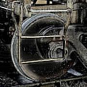 Steel Wheel Art Print